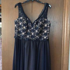 Morilee lace bridesmaids dress